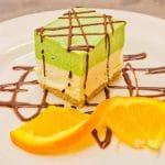 White Chocolate and Pistachio Parfait